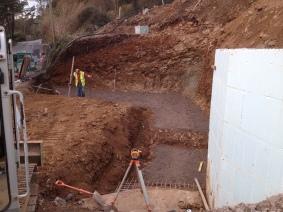 Excavation At Salcombe