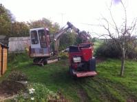 Hinowa Hi Lift Dumper and TB015