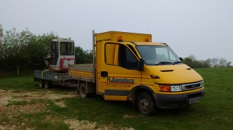 Iveco and Digger
