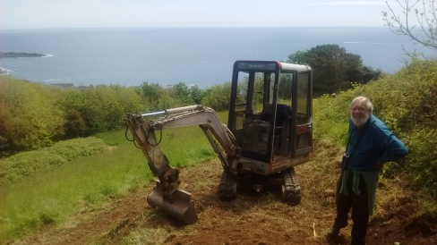 Access construction at Prawle for Devon Birds